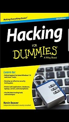 Hacking For Dummies, 5th Edition, Pdf Book, ethical hacking