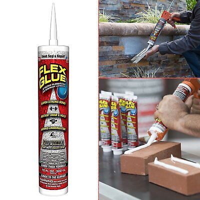 Flex Glue Strong Rubberized Powerful Waterproof Adhesive Bond, Seal and Repair