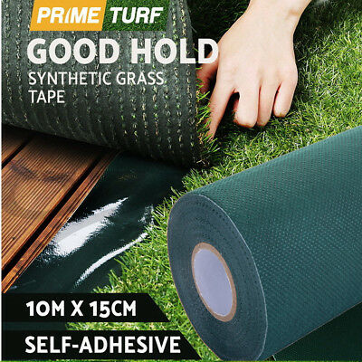 10m*15cm Synthetic Turf Jointing Lawn Grass Carpet Seaming Tape Self-adhesive US