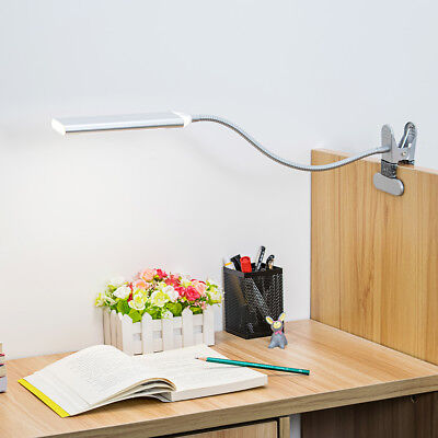 Flexible USB 48 LED Clip-On Desk Table Reading Desk Lamp Dimmable LED Light