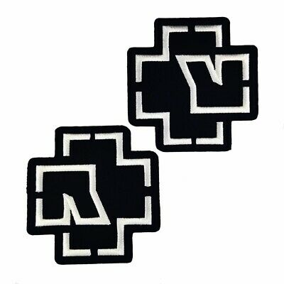 Rammstein Legend Of Rock Embroidered Iron On Patch
