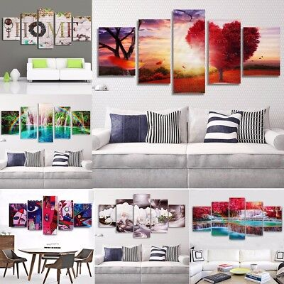 Unframed Colorfuf lModern Art Canvas Oil Painting Picture Print Home Wall Decor