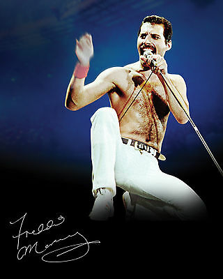 Freddie Mercury #1 - 10X8 Pre Printed Lab Quality Photo Print