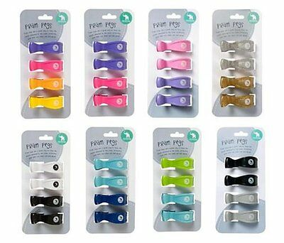 All4Ella Baby Pram Pegs | Pram/Stroller Covers | Out & About | Several Colours