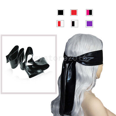Blindfold Soft Satin Eye Mask Band Blinder Cover For Sleep Adult Love Sexy Games