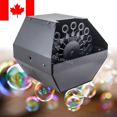 CA 16 Wand Bubble Machine Automatic Blower Maker Kids Party DJ DISCO Stage Show