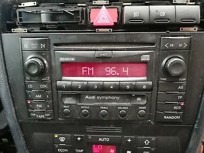 Audi A4 S4 Double Din Radio And Climate Control