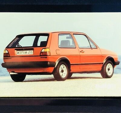 Vintage Photo Slide Golf GTI 1983 Europe Germany Photographic Images Collectible