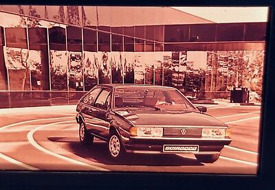 Photo Slide/negative VW Scirocco 1980 GL Photographic Images Collectibles