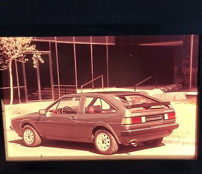 Photo Slide/negative VW Scirocco 1980 GL