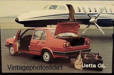 Photo Slide/negative VW Jetta GL 1983 Photographic Images Collectibles