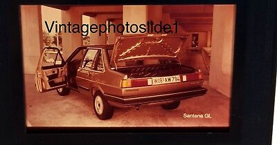 Photo Slide/negative VW Santana GL 1981