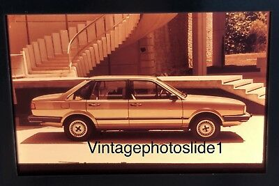 Photo Slide/negative VW Santana GL 1981 Photographic Images Collectibles