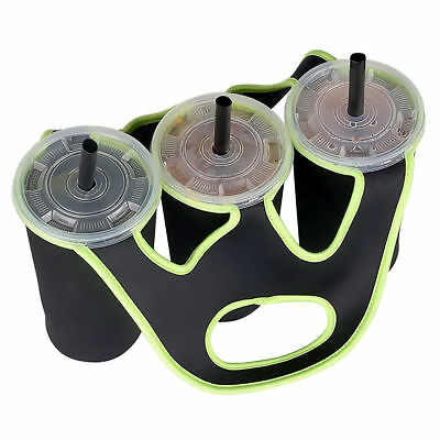 3-in-1 Outdoor Insulated Water Bottle Bags Carrier Cover Holder Travel Drink Bag