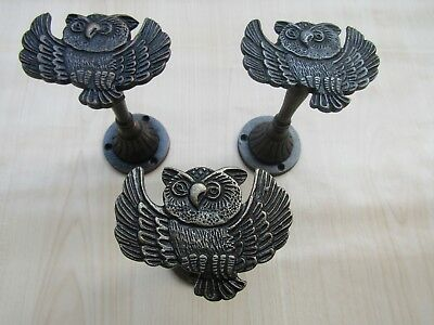 Cast iron Ornate fancy traditional old victorian curtain tie back hold-back hook