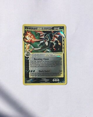Charizard Gold Star 100/101  Played EX Dragon Frontiers Ultra Rare Holo P