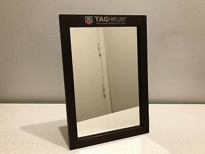 Espejo TAG HEUER Mirror - Wood Aluminum - Like New - For Watches Collectors