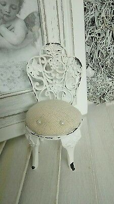 Clayre & eef Pin Cushion Pin Needle Chair Shabby Chic Vintage Brocade