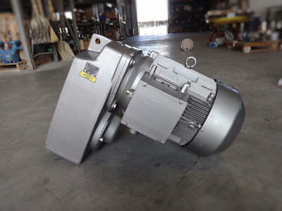 Nord Unicase Parallel Shaft Helical Gear Reducer Sk-5282Azbh-160 M/4 Tf W/ Motor