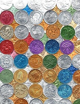 Mardi Gras Doubloon Lot ~ 100 Different Tokens