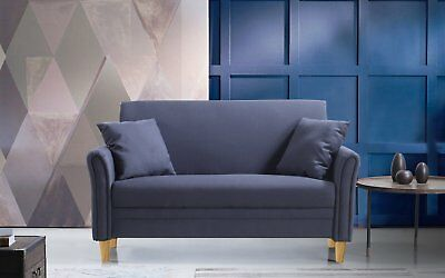 MODERN SMALL FURNITURE Living Room Loveseat Sofa, 2 Accent ...