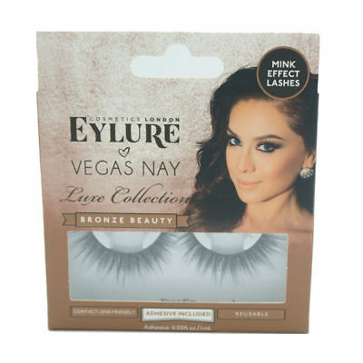e690cba7966 NEW Eylure Eye Lashes VEGAS NAY LUXE COLLECTION BRONZE BEAUTY MINK EFFECT