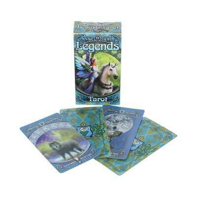 New Anne Stokes Legends Tarot Deck Gothic Fantasy Tarot Familiar Brand New Deck