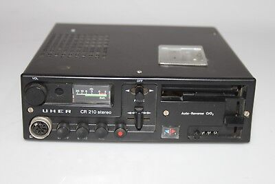 UHER CR 210 Stereo Cassetten Recorder Auto Radio Vintage