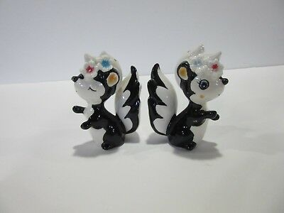Vintage Skunk Salt & Pepper Shakers