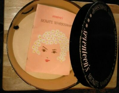 Vintage Orig.1957 Seventeen Magazine's Workshop Hat Box and Booklet
