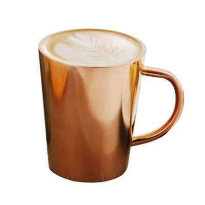 stainless steel double-temperature high-temperature milk cup coffee cup cre L3T8