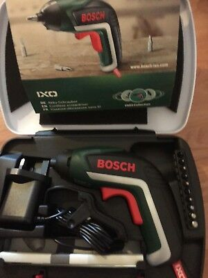 Bosch IXO Cordless Screwdriver Lithium  Battery Electric Screwdriver  Set £29.99
