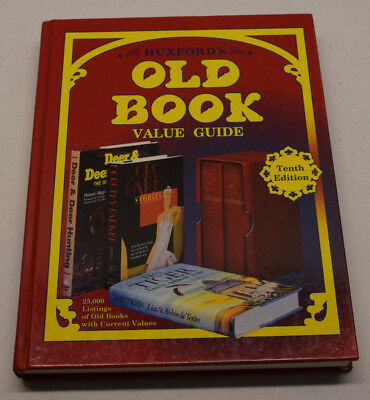 Huxford's Old Book : Value Guide by Bob Huxford (1998, Hardcover)