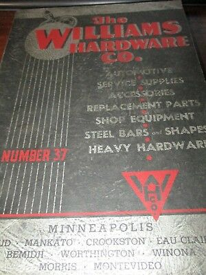 The Williams Hardware Co. Catalog Number 37, 1937