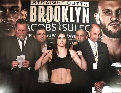 Katie Taylor Signed Large A3 Photo