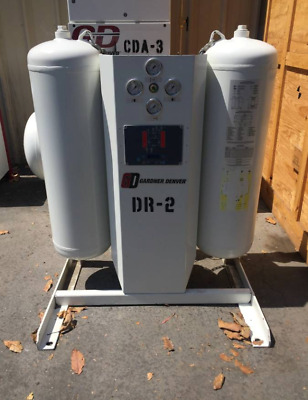 Gardner Denver Heatless Desiccant Air Dryer DGHE-115 115 SCFM DGH Series