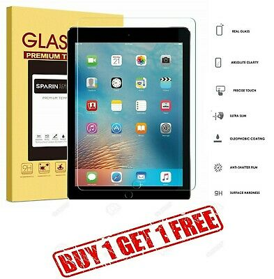 "100% Genuine Tempered Glass Screen Protector For Apple iPad Pro 10.5""  BUY1 GET1"