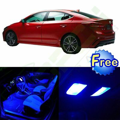 11x Interior Package Kit For Acura TL 2004 2008 Lamp Car LED Lights Bulb  Blue