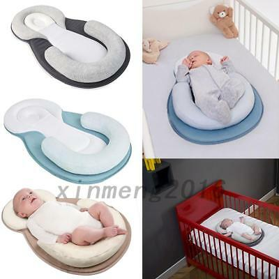 Infant Newborn Baby Pillow Cushion Prevent Flat Head Sleep Support Anti Roll Hot