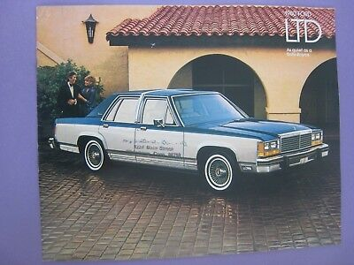 1980... Ford LTD Brochure...11x9 in....Original