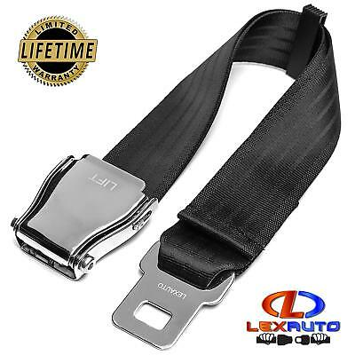 LexAuto Adjustable Airplane Seat belt Extender (7-32 Inch) E-4 Safety Certified
