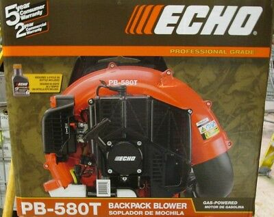Brand New Echo PB-580T Gas-Powered Backpack Blower Free Shipping