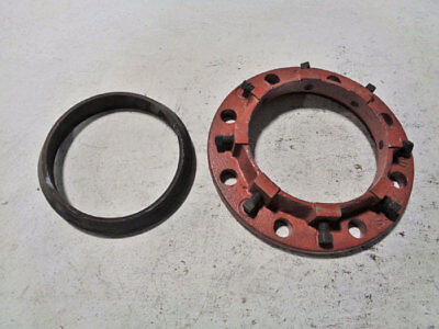 "Lot Of (2) Star Pipe Products Series 400 Cast Iron 6"" Flange Adapter Sf406Gn"