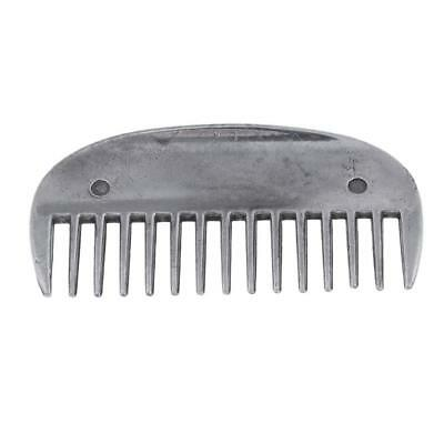 Equine Grooming Curry Brush Horse Comb Stainless Steel Durable Horse Riding