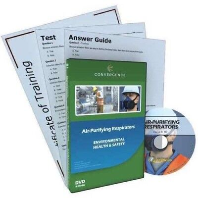 CONVERGENCE TRAINING  Air-Purifying Respirators Training, DVD G7319317