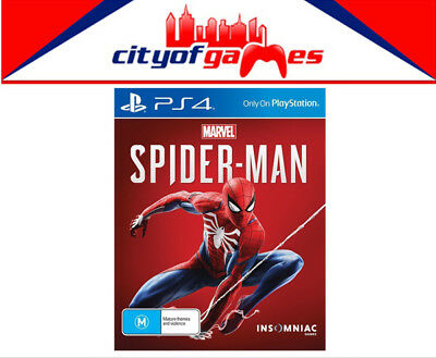 Marvel's Spider-Man PS4 Game Brand New In Stock