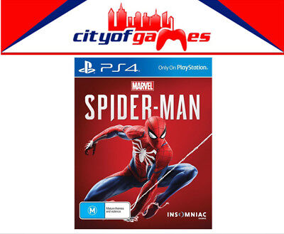Marvel's Spider-Man PS4 Game Brand New & Sealed In Stock