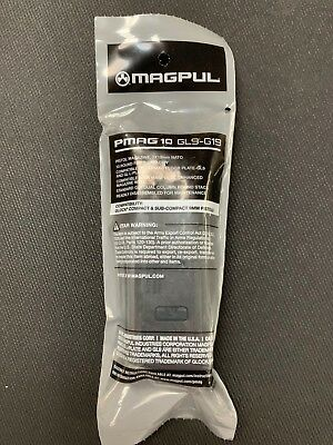 MAGPUL 907 9MM 10 Rnd Mag (15) CA Legal for Glock 19 FAST SAME DAY FREE SHIPPING