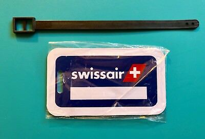 Swiss Airlines Crew Luggage Tag