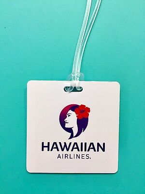 Hawaiian Airlines Luggage Tag--New Look